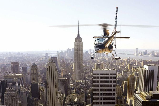 Private New York City-helikoptertour vanuit Westchester
