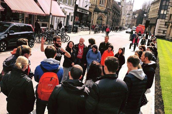 Alumni-Guided Cambridge University College Walking Tour