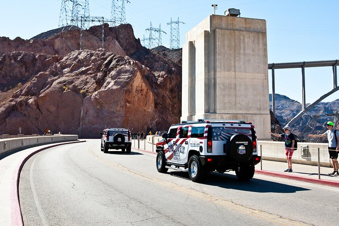 Ride across the top of Hoover Dam.