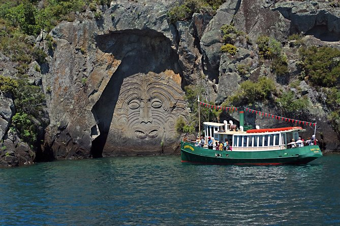 Maori Rock Carvings Scenic Cruise