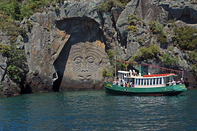 Maori Rock Carvings Scenic Cruise