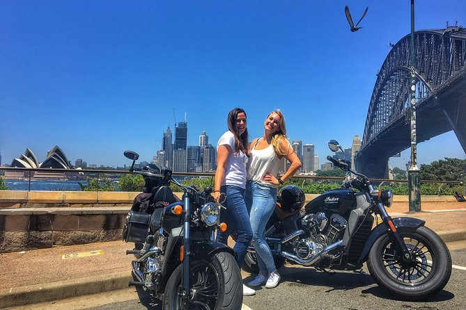 SYDNEY & THE HARBOUR BRIDGE - 1 Hour Guided Motorcycle Tour