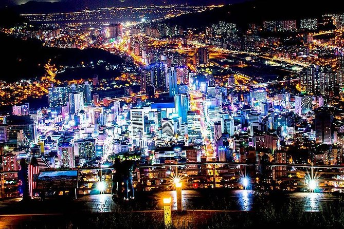 Half-day Busan Private Night tour for views and shopping