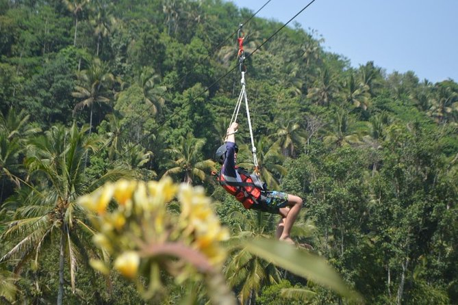 Bali Rafting with Flying Fox