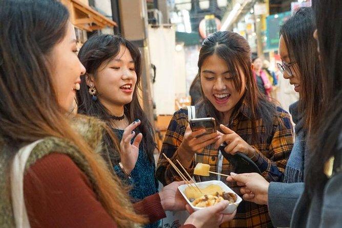 Excursão a pé pela Kuromon Market Food em Osaka