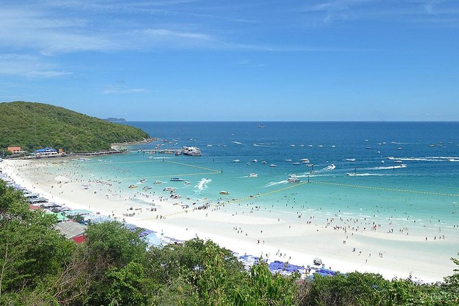 Pattaya Coral Islands Tour with stopover for Parasailing, Fishing & Banana Boat