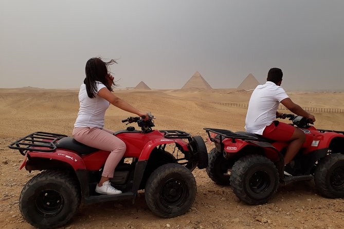 Quad motor bike the pyramids