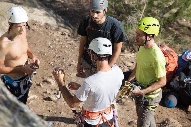 Rock climbing taster in Valencia