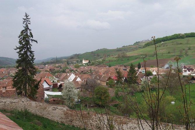 View above Biertan