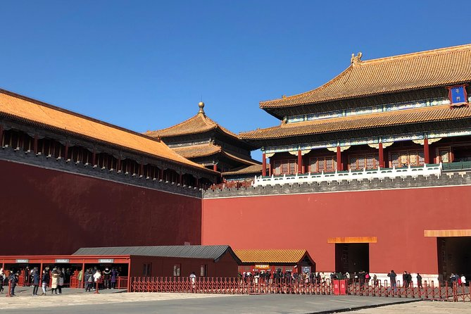 Beijing Private Tour to Tiananmen Square, Forbidden City, Temple of Heaven with Lunch