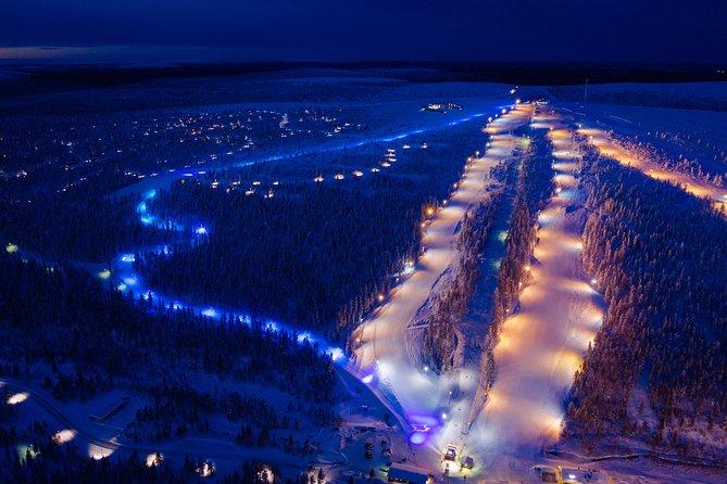 Aurora Tobogganing at Saariselkä (guided tour)