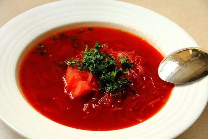 Private Borscht and Beef Stroganoff Private Cooking Class in Moscow