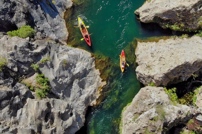 Discover a 14km kayak trip in the heart of the French Riviera wilderness