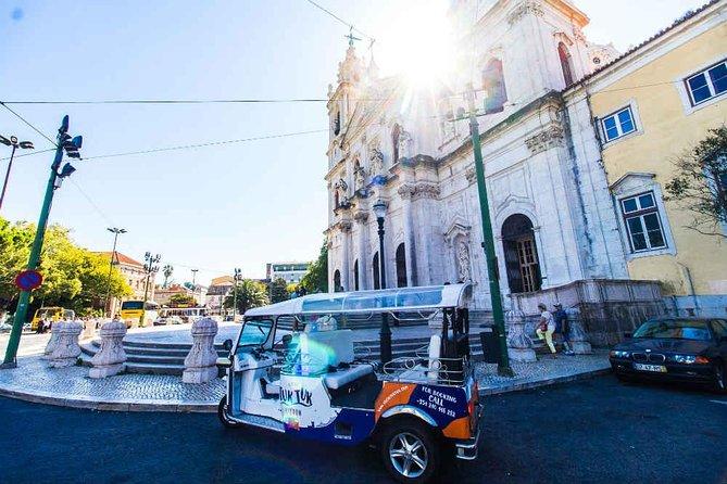 Wonders of Lisbon - 4hours Private Tuk Tuk Tour