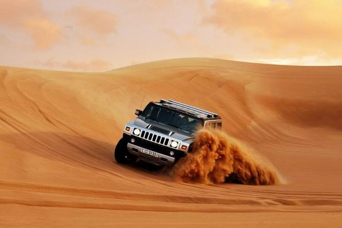 Vip Hummer H2 Desert Safari BBQ Dinner 7 live show's ( Private for 5 to 6 Pax)
