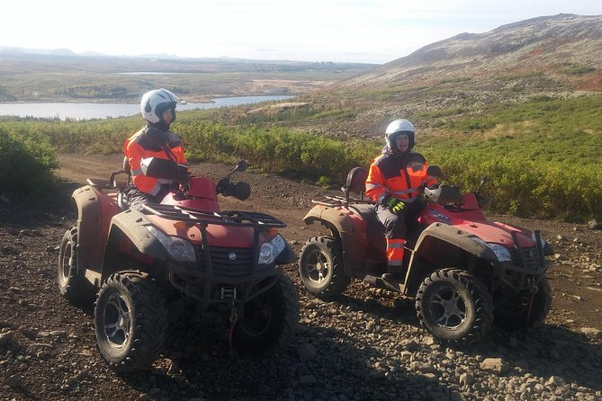 2-Hour ATV Quad Tour from Reykjavik, Solo Rider