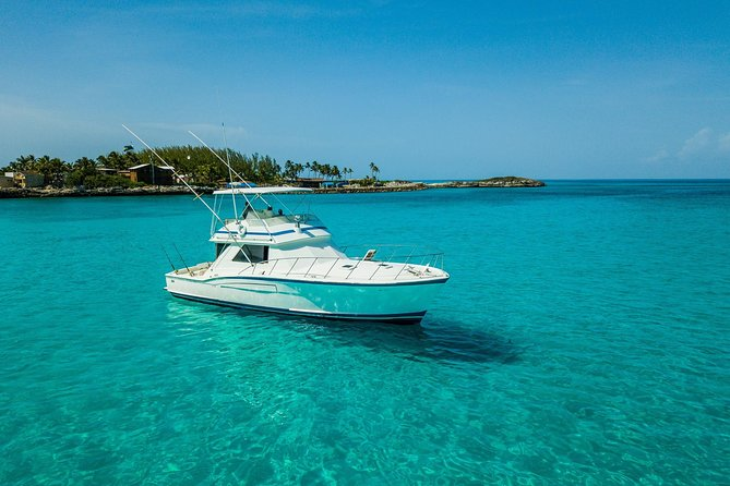 Private Customizable Boat Charter from Nassau - Full Day (48ft Boat)