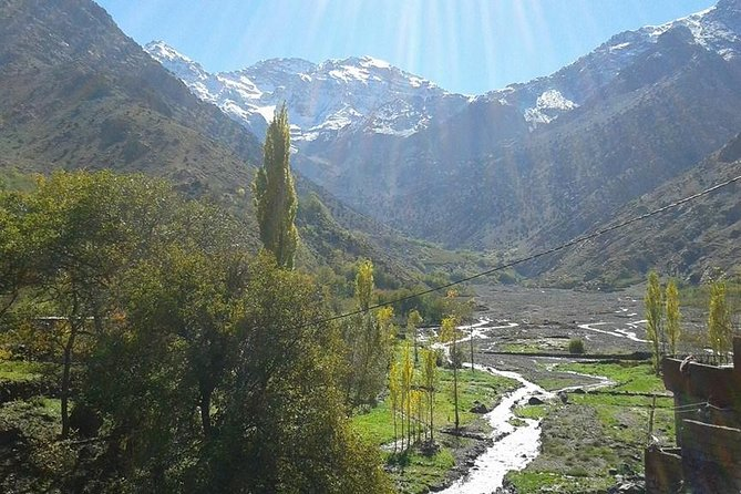 Atlas Mountains And Toubkal Massif & Waterfalls Private Day Trek From Marrakech photo 1