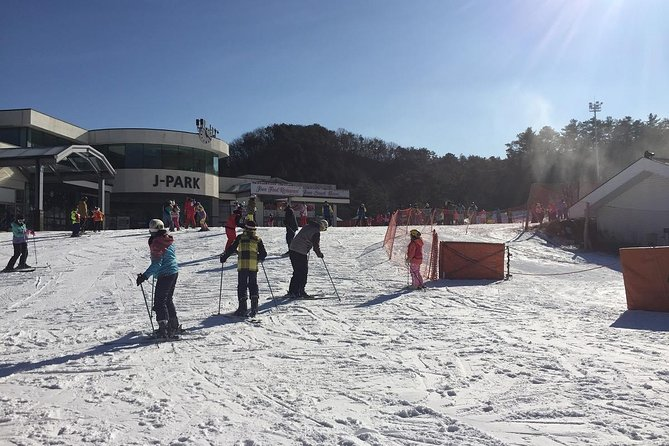 Full Day Ski Tour at Jisan Forest and Everland