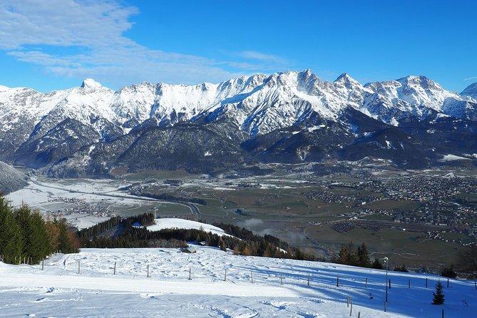 View from the mountain inn Biberg