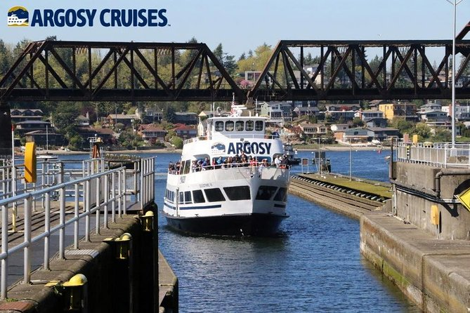 Seattle Locks Cruise - Round trip Boat & Bus Package