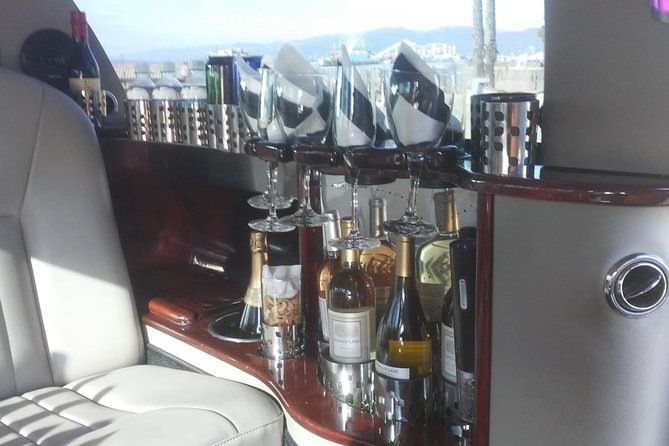 limo 6 hour tour for up to 6 people, one low price with beer, wine, liquor,soda! photo 9