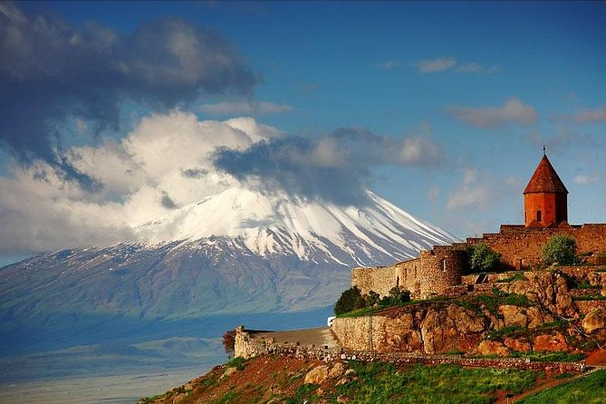 Private 7-8-hour Khor Virap, Garni temple & Geghard monastery trip from Yerevan