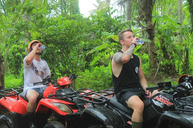 Bali Quad ATV with Ubud Halfday Tour