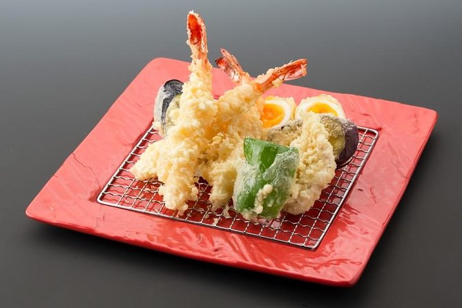 Yamanashi Japanese Food Cooking with a Chef, the Best Crispy Prawn Tempura