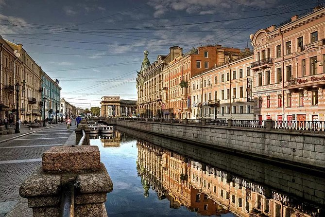 Private Saint-Petersburg Early Access Canoe Water Tour