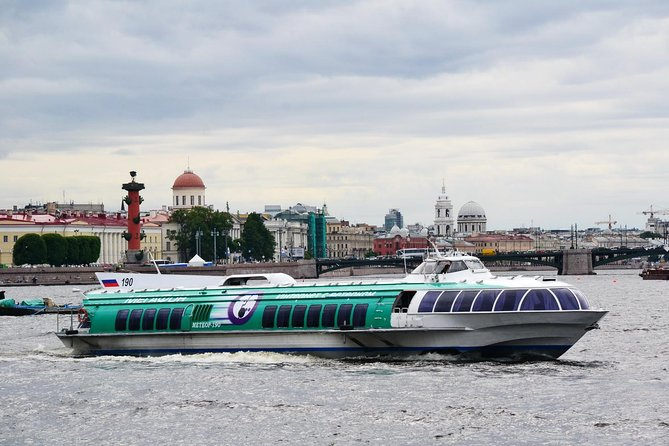 Private Shore Day Trip: City Tour, Cruise to Peterhof, Classical Ballet & lunch