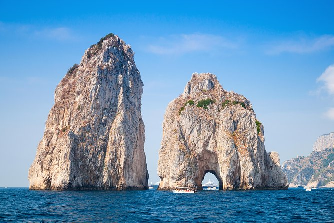 Private Tour: Amalfi Coast to Capri Cruise