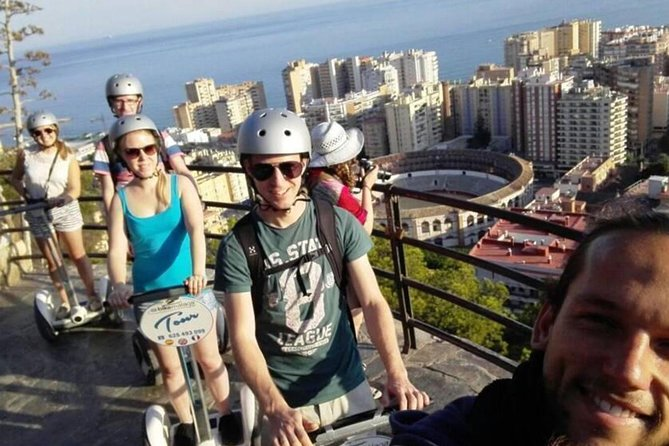 90min Segway Small Group Tour in Malaga