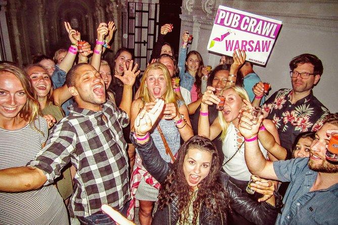 #1 Pub Crawl Warsaw with Free Drinks