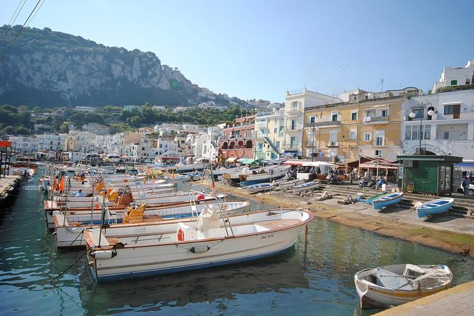 Capri Day Trip From Rome with Private Driver