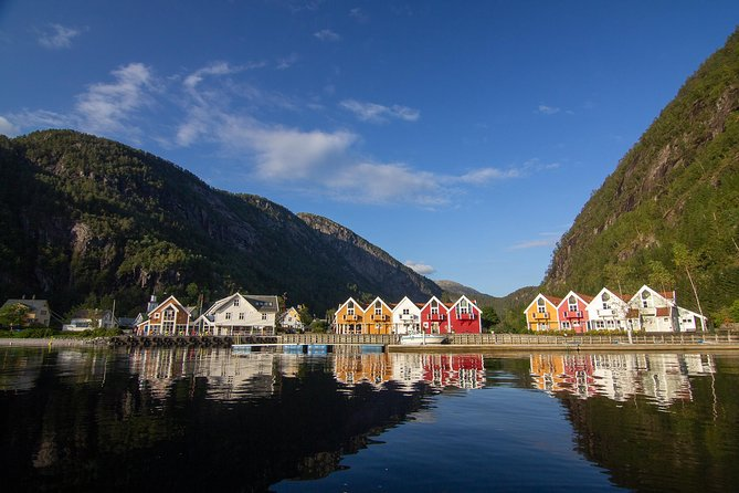 And capture picturesque villages at the end of the Fjords