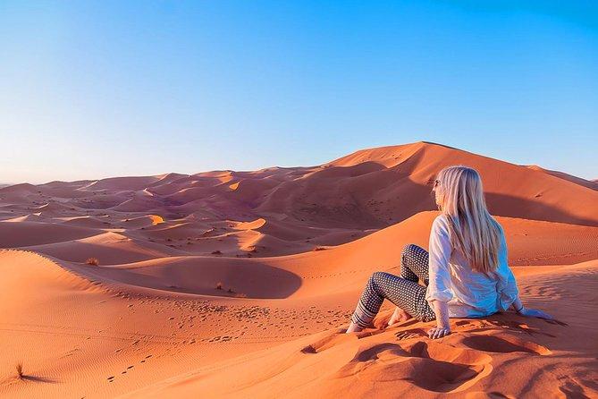 3-Day Luxury Desert Tour from Marrakech to Merzouga Desert