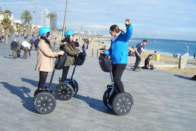 Segway Flexible Private Tour in Barcelona