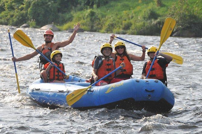 Family Float Rafting Trip in Western Massachusetts