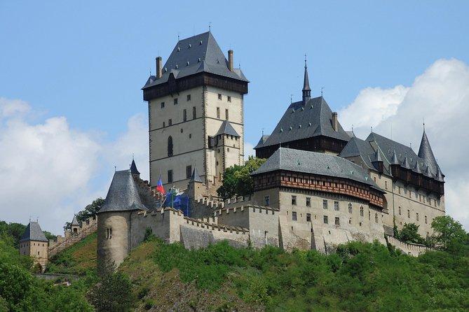 Karlstejn and Krivoklat castles tour from Prague
