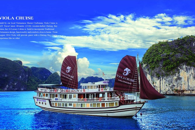 LUXURY Halong Bay 3 Days 2 Nights on Viola Cruise 4**** from Hanoi