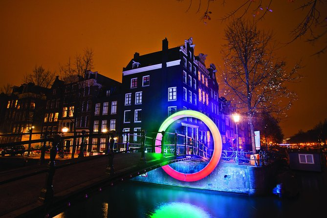 Amsterdam Light Festival open boat cruise