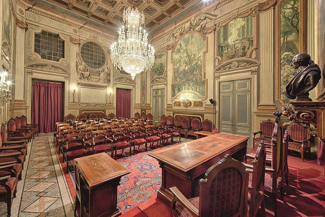 Guided Tour at Barcelona's Royal Academy of Sciences and Arts
