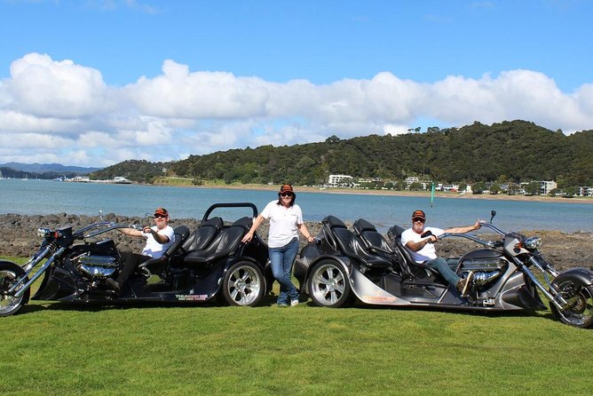 V8 Trike Tours 60-Minute Bay of Islands Combo Tour Minimum 2 Travellers