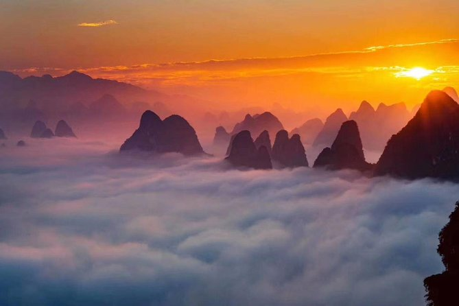 Half-Day Yangshuo Xianggong Mountain Sunrsie Private Tour from GUILIN hotel photo 8