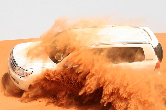 Desert Safari Dubai with Dinner in PRIVATE Luxury 4*4 Vehicle