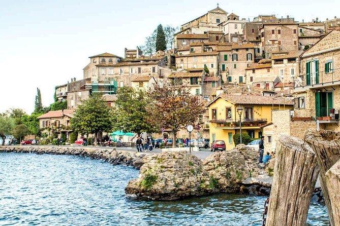 Private Lake Bracciano&Roman coutryside shore excursion from Civitavecchia