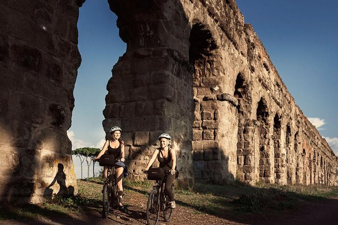 Ancient Appian Way, Catacombs and Roman Aqueducts Electric-Assist Bicycle Tour photo 8