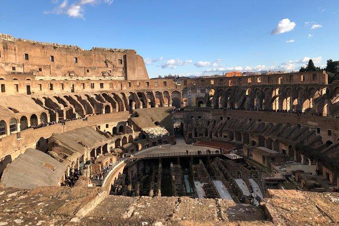 Colosseum Undergrounds, Roman Forums & Palatine Hill Tour