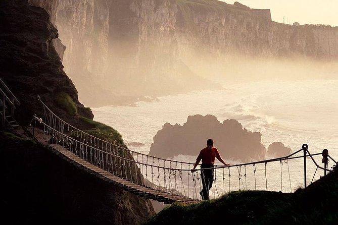 Giant's Causeway og Carrick-a-Rede Rope Bridge Day Trip fra Belfast